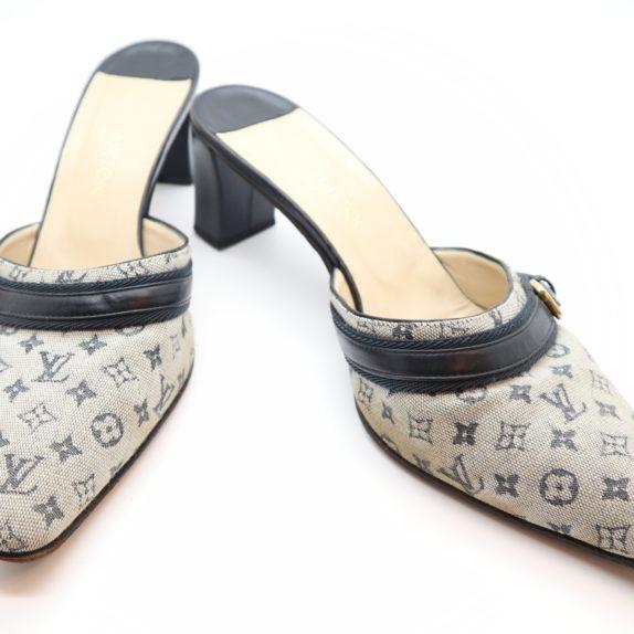 Louis Vuitton Pumps Min Lin grau 37 1/2