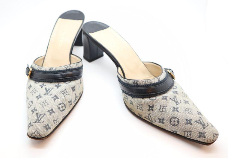 Louis Vuitton Pumps Min Lin grau 37 1/2-0