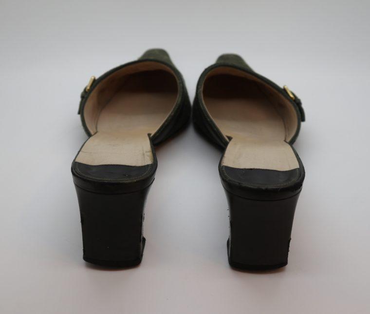 Louis Vuitton Pumps Mini Lin khaki 37-14353