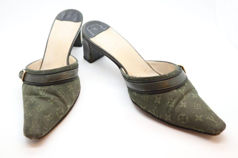 Louis Vuitton Pumps Mini Lin khaki 37-0