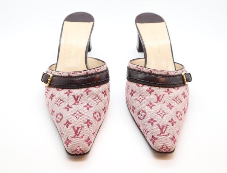 Louis Vuitton Pumps Mini Lin rosa 38 1/2-14362