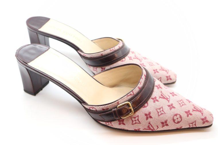 Louis Vuitton Pumps Mini Lin rosa 38 1/2-0