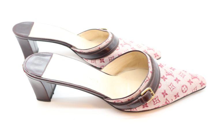 Louis Vuitton Pumps Mini Lin rosa 38 1/2-14363