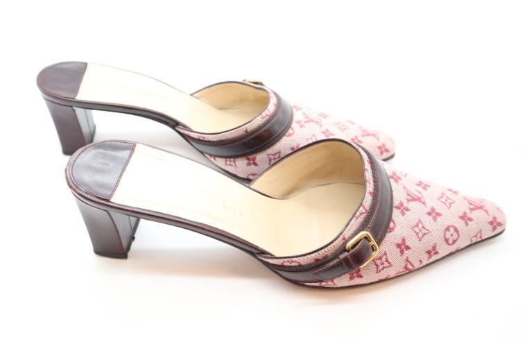 Louis Vuitton Pumps Mini Lin rosa 38 1/2-14365
