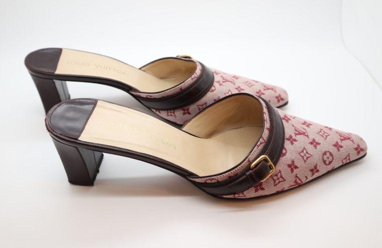 Louis Vuitton Pumps Mini Lin rosa 38 1/2-14366