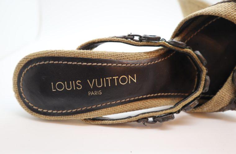 Louis Vuitton Pumps beige 39 1/2 -14384
