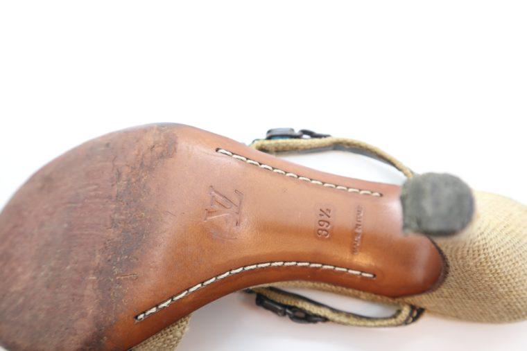 Louis Vuitton Pumps beige 39 1/2 -14383