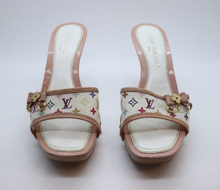 Louis Vuitton Pumps Multicolor rosa weiß 37-14402