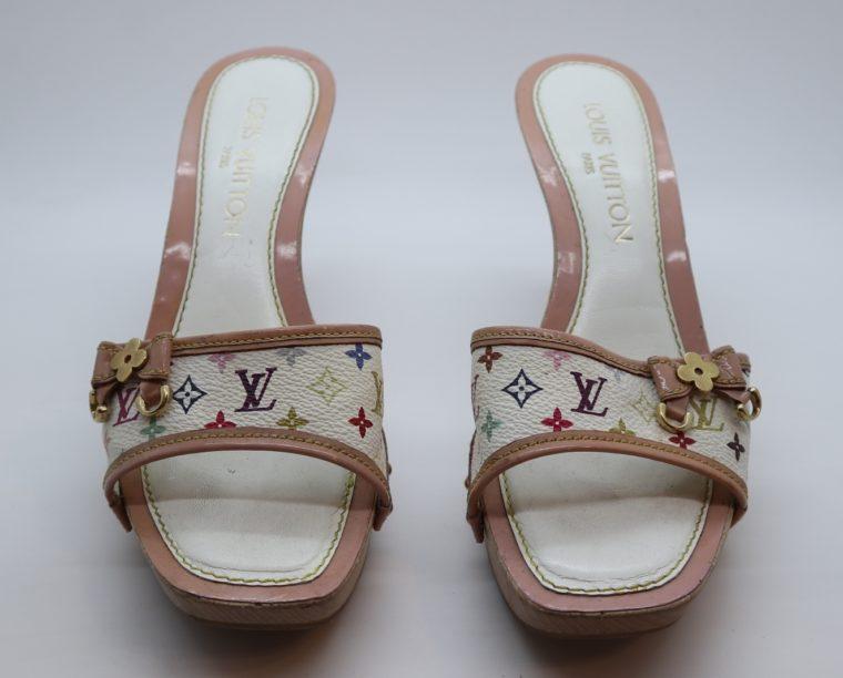 Louis Vuitton Pumps Multicolor rosa weiß 37-14399
