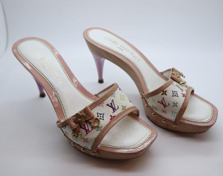 Louis Vuitton Pumps Multicolor rosa weiß 37-0