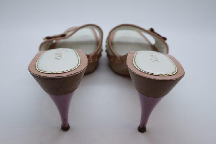 Louis Vuitton Pumps Multicolor rosa weiß 37-14401