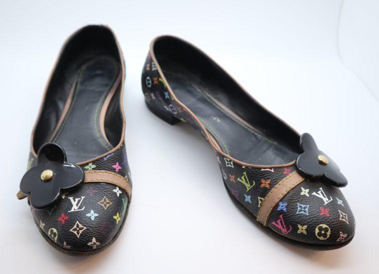Louis Vuitton Ballerinas Multicolor schwarz 37 1/2-0