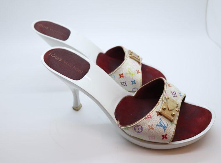 Louis Vuitton Pumps Multicolor weiß 38-14432