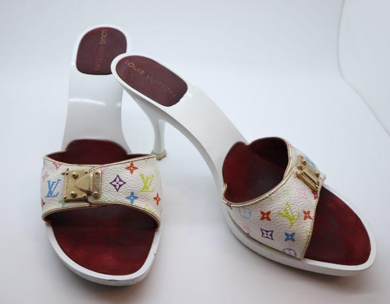 Louis Vuitton Pumps Multicolor weiß 38-14438