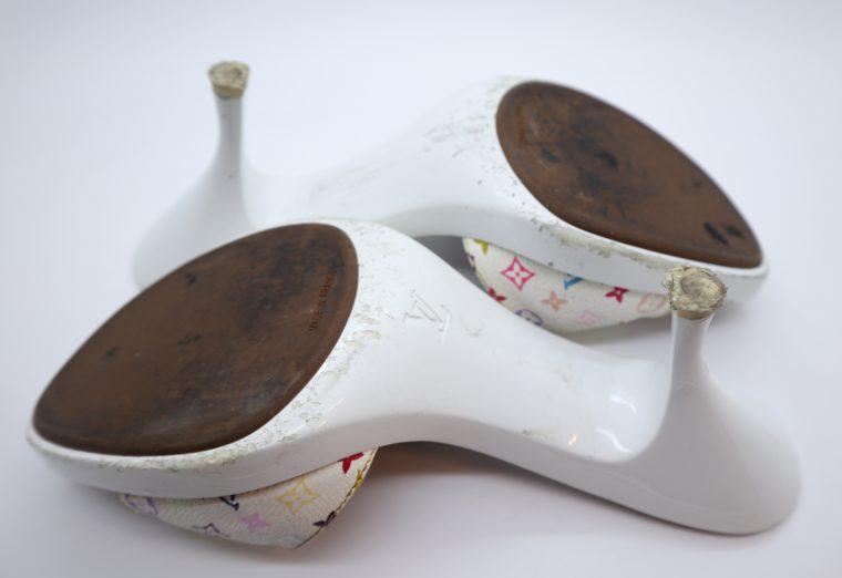Louis Vuitton Pumps Multicolor weiß 38-14437