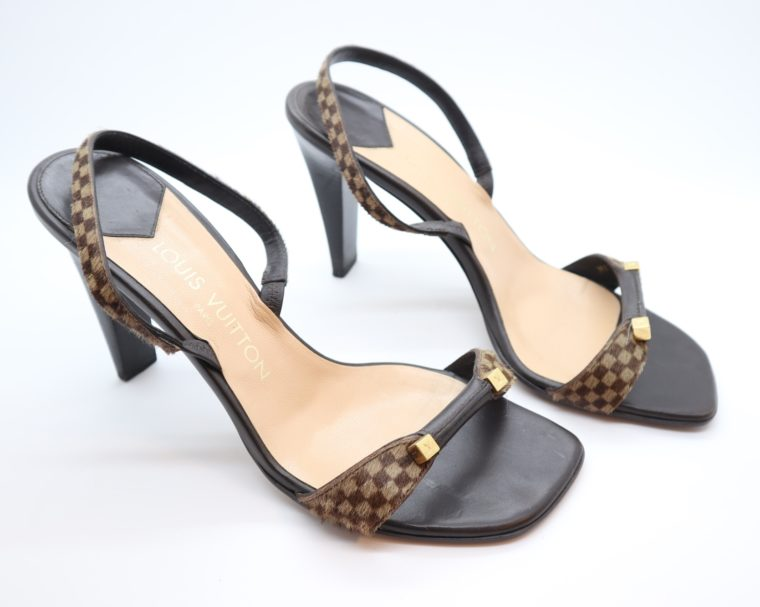 Louis Vuitton Pumps sauvage Ponyfell 39-14456