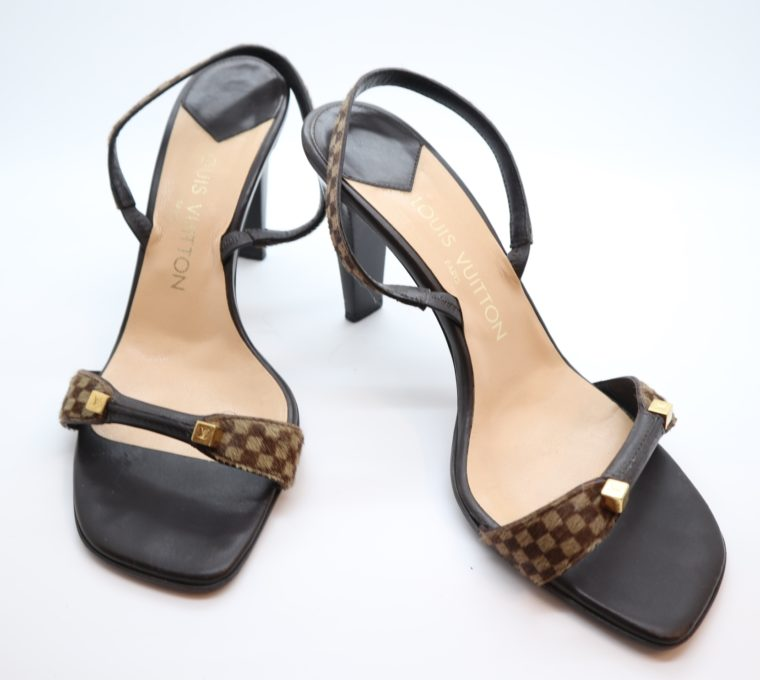 Louis Vuitton Pumps sauvage Ponyfell 39-0