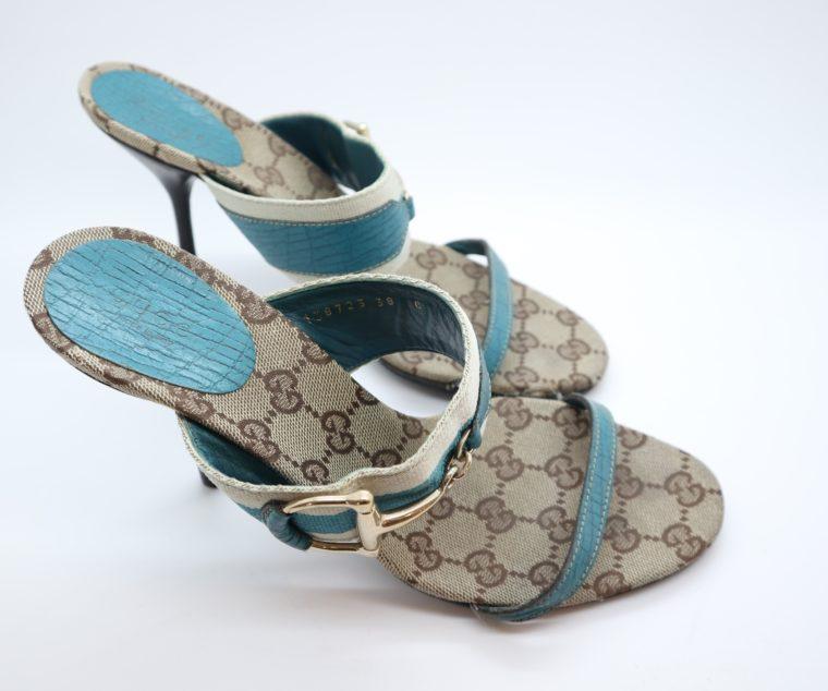 Gucci Pumps türkis 38-14474