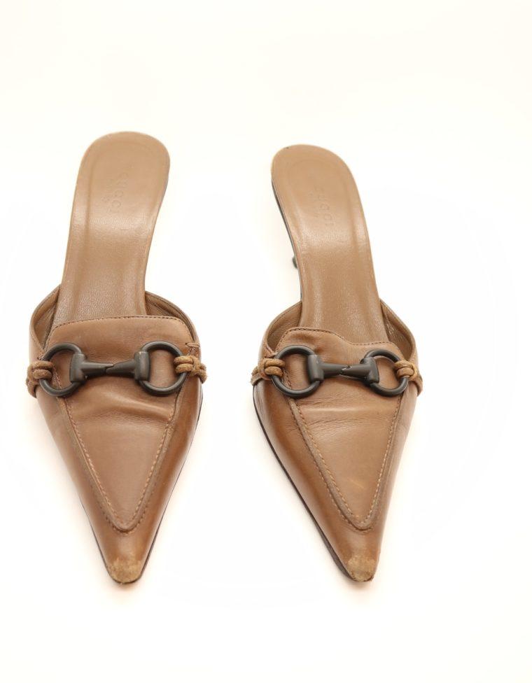 Gucci Pumps braun 38-14599