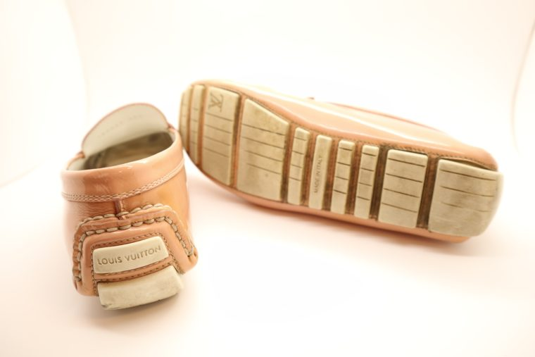 Louis Vuitton Loafer Vernis Leder rosa 38 1/2-14636