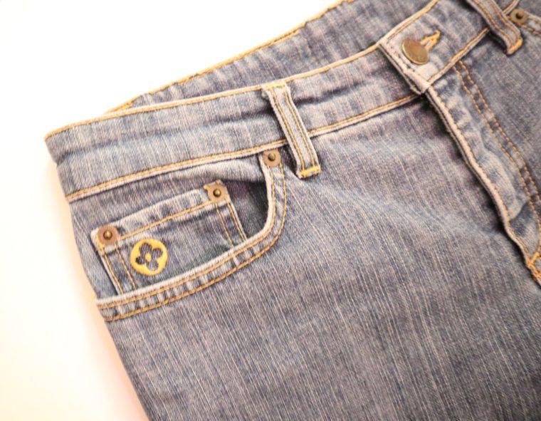 Louis Vuitton Jeans blau 36-14732