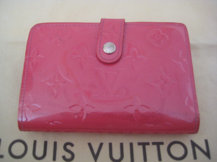 Louis Vuitton Geldbörse pink Viennois Gedbörse -0
