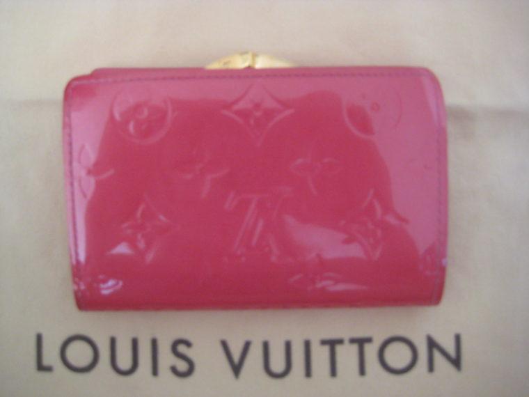 Louis Vuitton Geldbörse pink Viennois Gedbörse -303