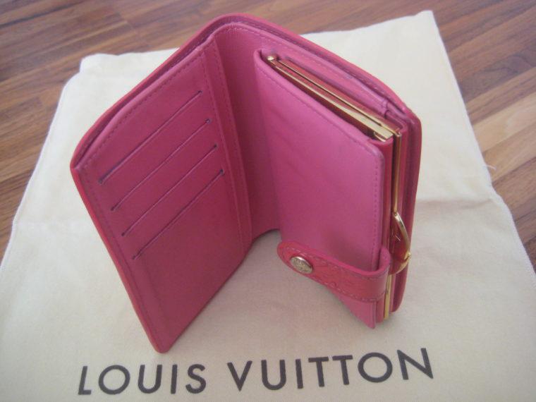 Louis Vuitton Geldbörse pink Viennois Gedbörse -302