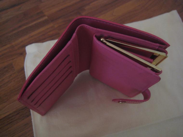 Louis Vuitton Geldbörse pink Viennois Gedbörse -305