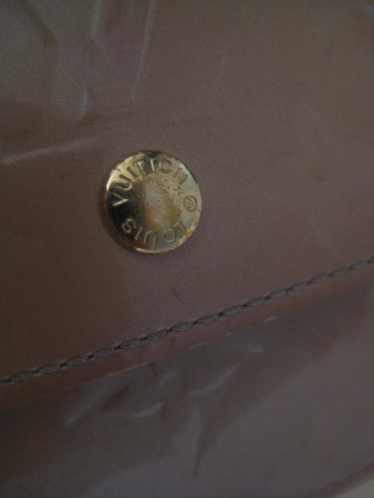 Louis Vuitton Geldbörse Elise Vernisleder beige-312