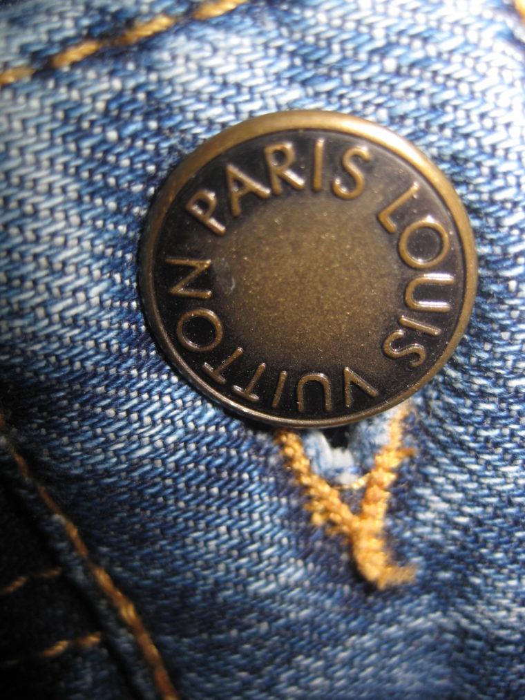 Louis Vuitton Jeans blau 36-1207