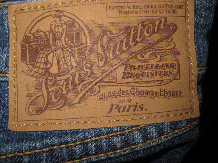 Louis Vuitton Jeans blau 36-1206