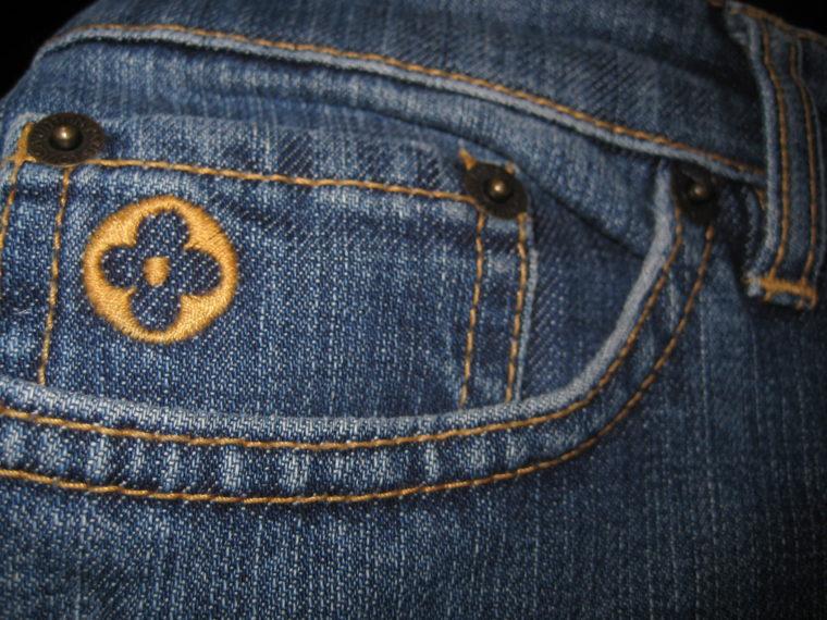 Louis Vuitton Jeans blau 36-1202