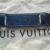 Louis Vuitton Schulterriemen Rutschstopp blau Leder
