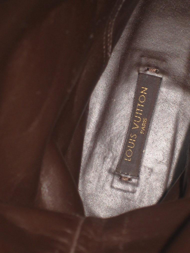 Louis Vuitton Stiefel braun 39 Leder-1495