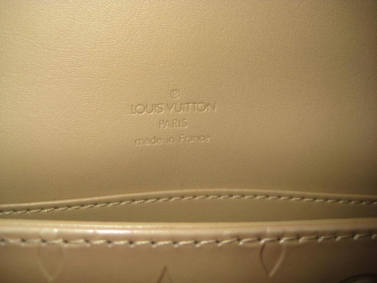 Louis Vuitton Thompson Street Vernis Leder beige -1707
