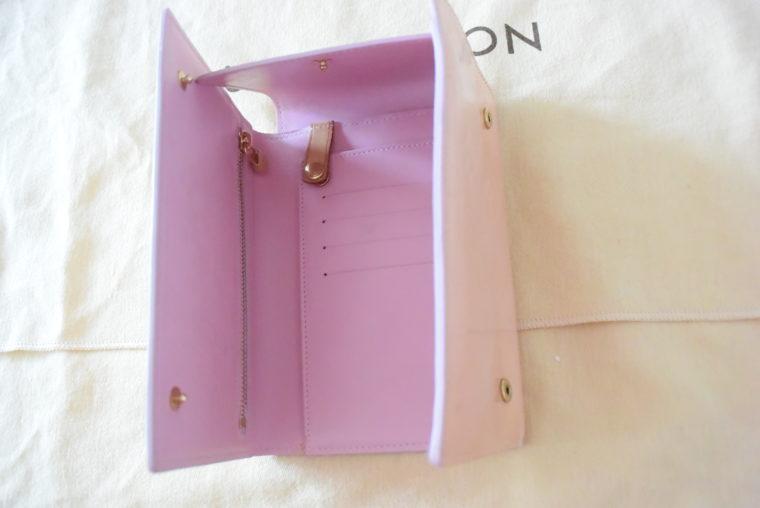 Louis Vuitton Geldbörse Tasche Walker rosa-3482