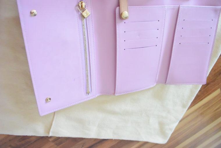 Louis Vuitton Geldbörse Tasche Walker rosa-3491