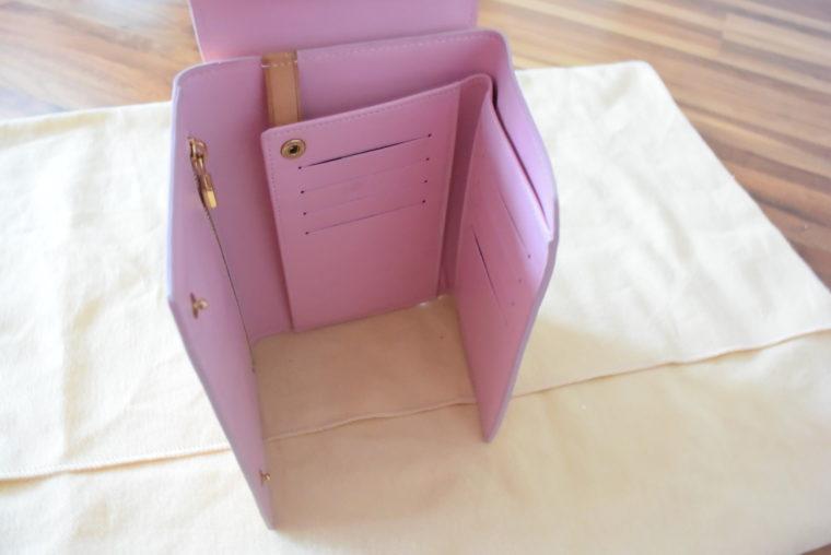 Louis Vuitton Geldbörse Tasche Walker rosa-3487