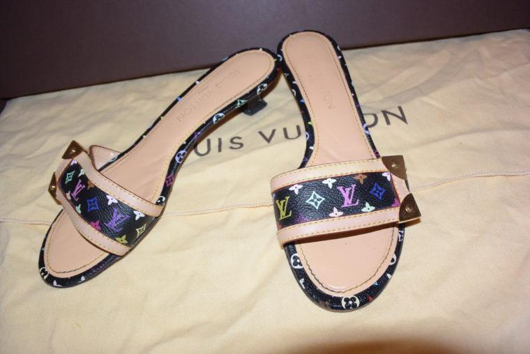 Louis Vuitton Pumps Multicolor schwarz 37-0