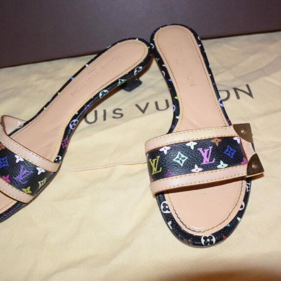 Louis Vuitton Pumps Multicolor schwarz 37