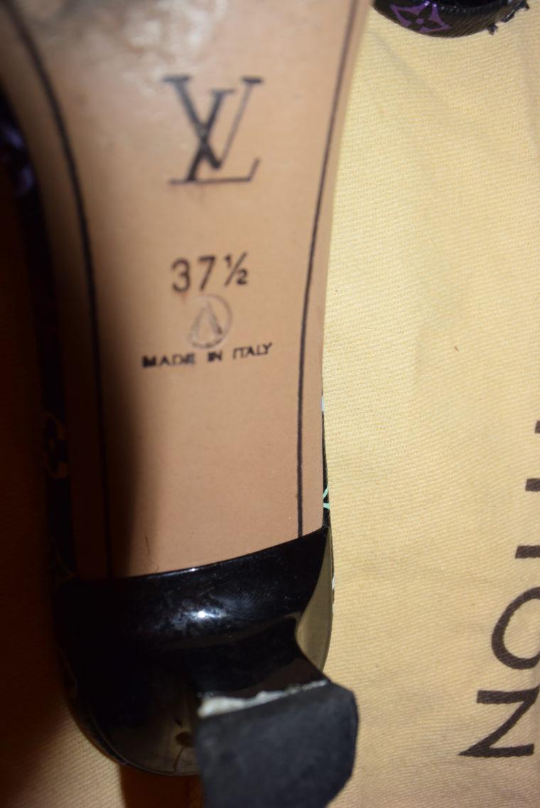 Louis Vuitton Pumps Multicolor schwarz 37-3579