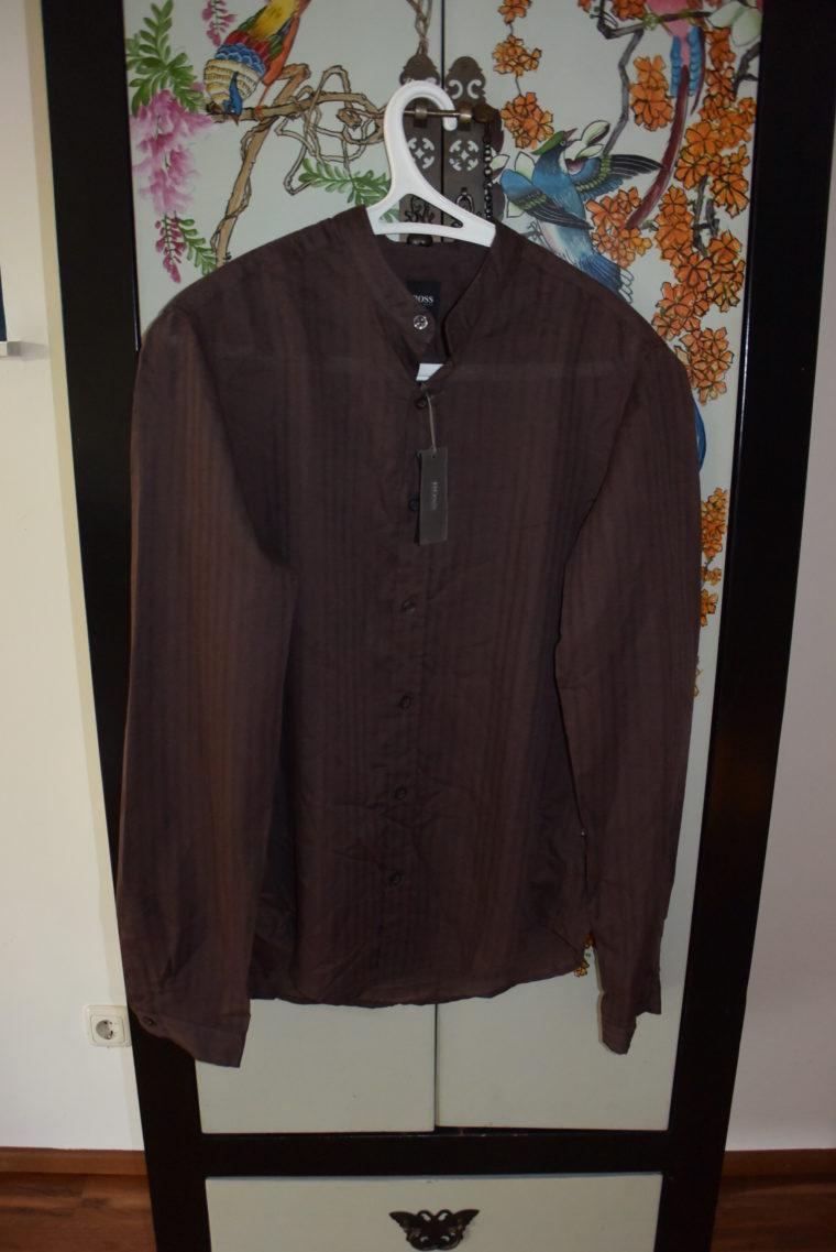 Hugo Boss Männerhemd braun-2650