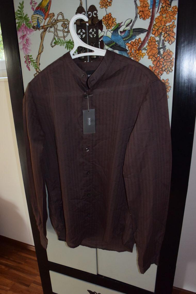 Hugo Boss Männerhemd braun-2652