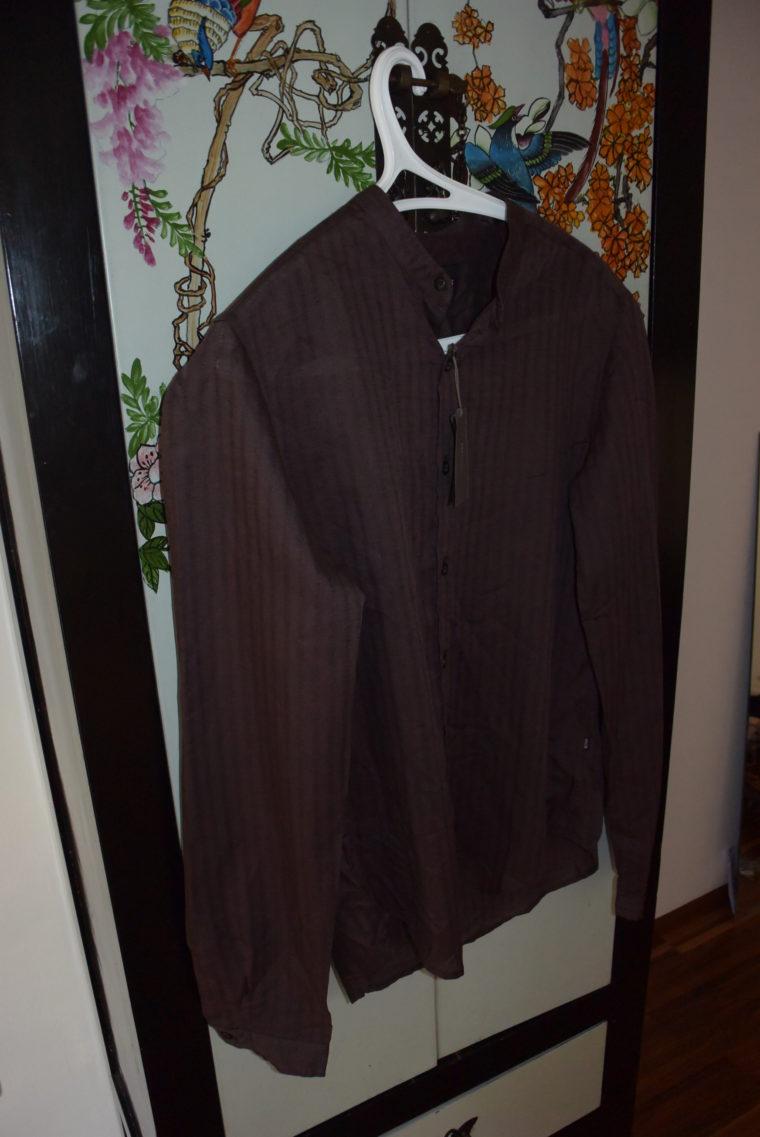 Hugo Boss Männerhemd braun-0
