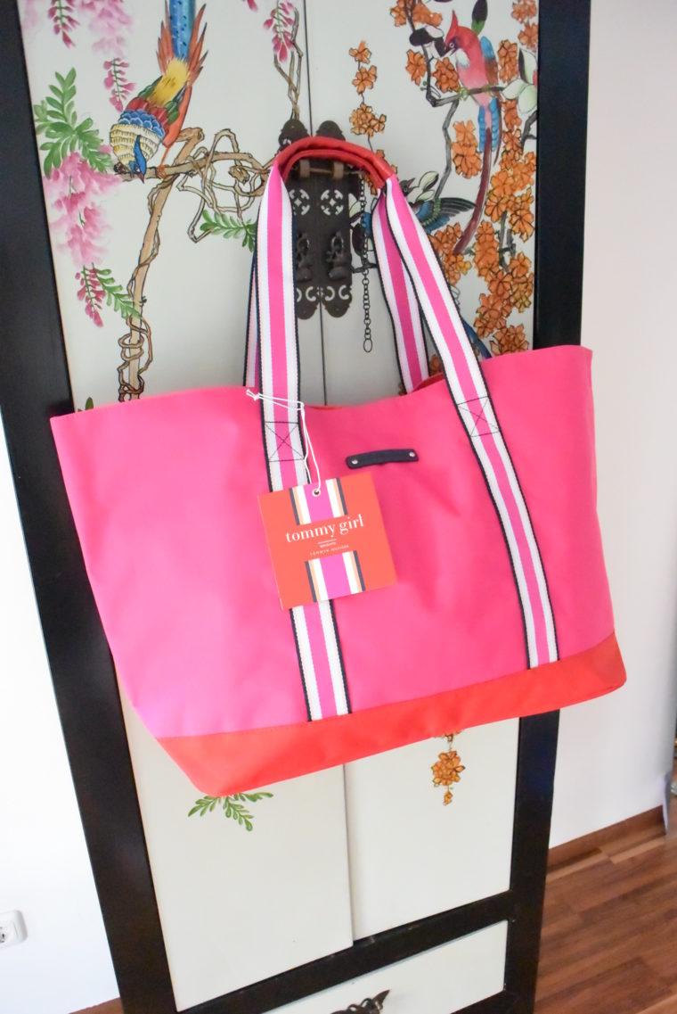 Tommy Hilfiger Tasche groß pink-2730