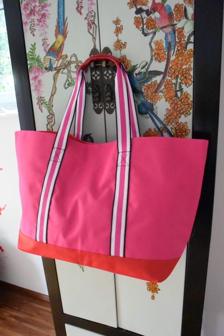 Tommy Hilfiger Tasche groß pink-2739
