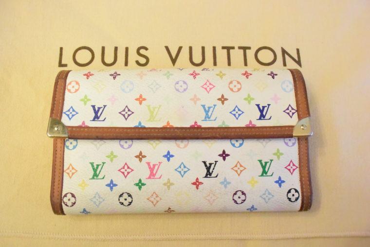 Louis Vuitton Geldbörse International MC weiß-0