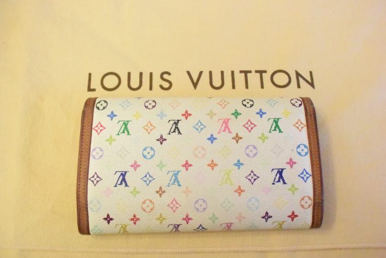 Louis Vuitton Geldbörse International MC weiß-3397