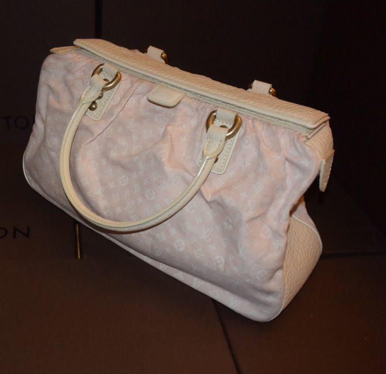 Louis Vuitton Tasche Trapeze GM Mini Lin rosa-0